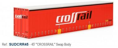 Sudexpress SUDCRR45 Crossrail 45' Swap Container