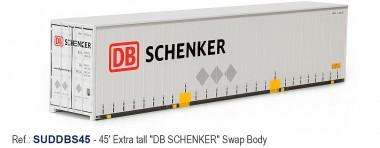 Sudexpress SUDDBS45 DB Schenker 45' Swap Container