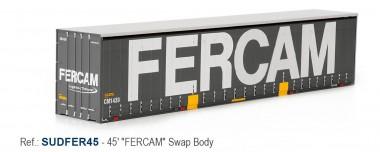 Sudexpress SUDFER45 FERCAM 45' Swap Container