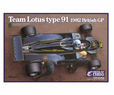 Ebbro 20012 Team Lotus Type 91 1982