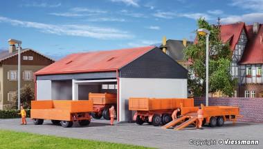 Kibri 15707 Anhänger-Set 4-tlg kommunal
