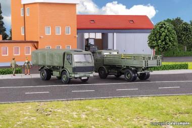 Kibri 18051 Bundeswehr LKW MB 1017