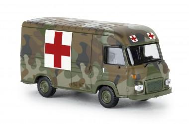 Brekina 14636 Saviem SG2 Kasten Service Médical