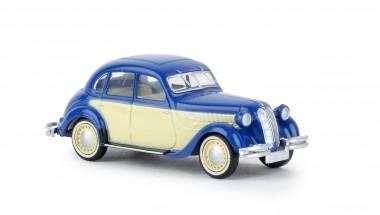 Brekina 24559 BMW 326 blau / hellelfenbein