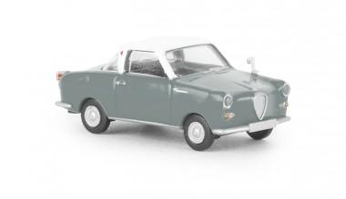 Brekina 27852 Goggomobil Coupe weiß/grau