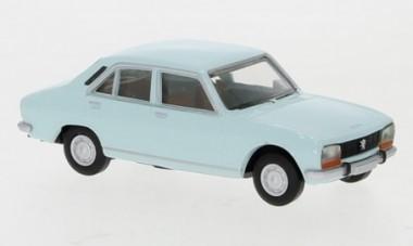 Brekina 29117 Peugeot 504 hellblau