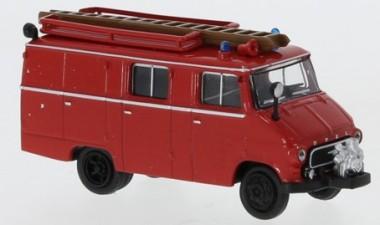 Brekina 35800 Opel Blitz LF8 rot/schwarz 1959