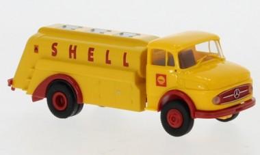 Brekina 47036 MB L322 Tank-Lkw Shell