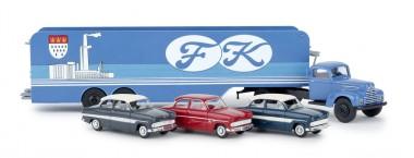 Brekina 49032 Ford FK 3500 Autotransporter Ford Köln