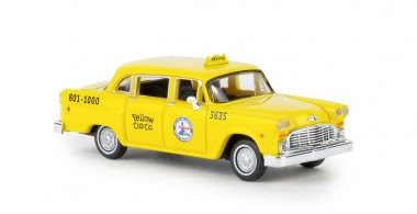Brekina 58923 Checker Cab Los Angels