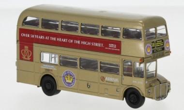 Brekina 61106 AEC Routemaster gold Golden Jubilee