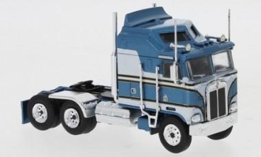 Brekina 85725 Kenworth K100 Aerodyne blau-met./grau