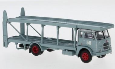 Brekina 95843 Fiat 642 Renntransporter graublau #58