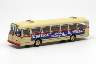 Brekina 95943-2 Büssing Senator 12D Rheinbahn Düsseldorf