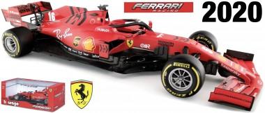 Bburago 16808V Ferrari Scuderia #5 S.Vettel 2020