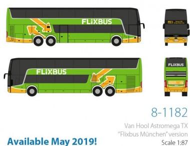 Holland oto 8-1182 VanHool Astromega TX Flixbus München