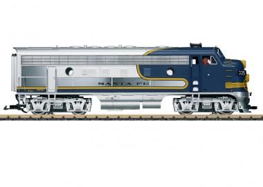 LGB 20585 Santa Fe Diesellok F7 A Ep.3