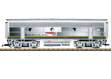 LGB 20587 Santa Fe Diesellok F7 B  Ep.3