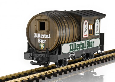 LGB 32421 Zillertalbahn Fasslwagen Ep.6