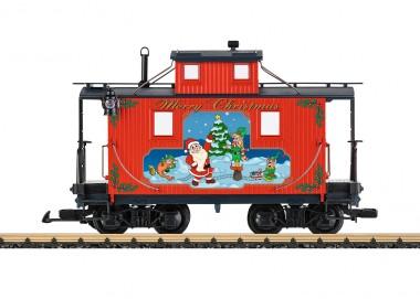 LGB 45652 Caboose Weihnachten