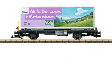 LGB 46895 RhB Containerwagen Volg 2-achs Ep.6