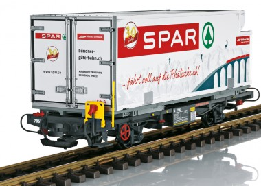 LGB 46897 RhB Spar Containerwagen Ep.6