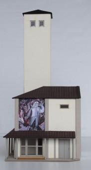 LOEWE 3001 Schlauchturm mit Eingangsbereich