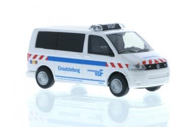 Rietze 51886 VW T5´10 VGF Einsatzleitung Frankfurt