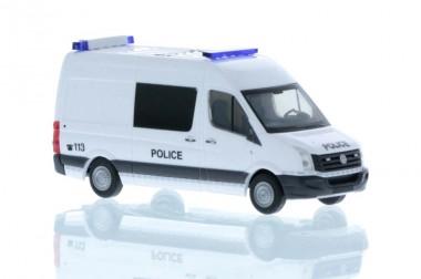 Rietze 53117 VW Crafter Halbbus Police (LUX)