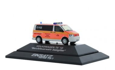 Rietze 53429 VW T5 ´10 Notarzt BF Salzgitter