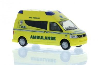 Rietze 53650 VW T5 Bus´10 Ambulanse (NO)