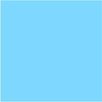 mini Pixel 32603 Farbstreifen Einser 03 Hellblau