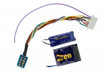 DCCconcepts DCD-Z218 Lok Decoder Zen 218, 21- & 8-pin