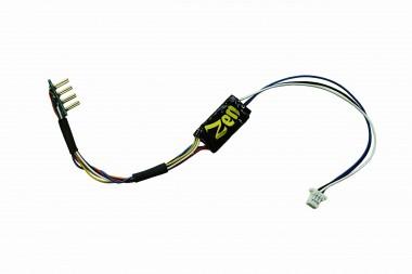 DCCconcepts DCD-ZN8H.2 Lok Decoder Zen Nano, 8-pin Kabel