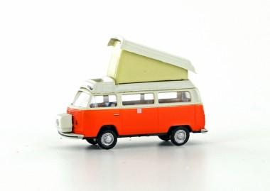 Lemke Minis 3881 VW T2b Westfalia Camper FD orange/weiß