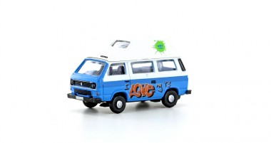 Lemke Minis 4336 VW T3 Westfalia Camper Graffitti