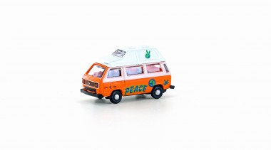 Lemke Minis 4351 VW T3 Westfalia Camper Graffiti