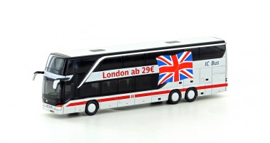 Lemke Minis 4462 Setra 431 DT DB IC Bus / London
