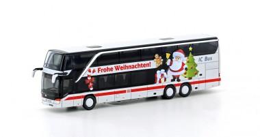 Lemke Minis 4463 Setra 431 DT DB IC Bus Weihnachten