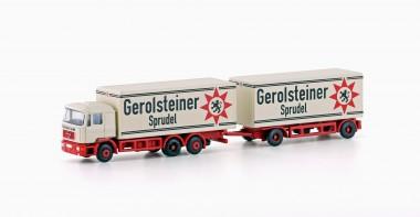 Lemke Minis 4604 MAN F90 Koffer-Hänger-HZ Gerolsteiner