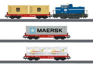 Märklin 29453 DBAG Startpackung DHG 700 Containerzug