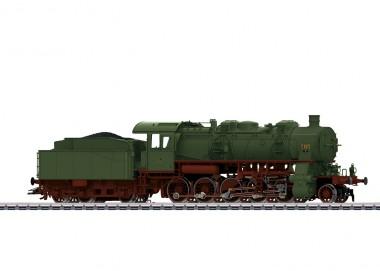 Märklin 37586 W.St.E. Güterzug-Dampflok G12 Ep.1