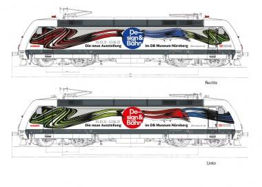 Märklin 39379 DBAG Design&Bahn E-Lok BR 101 Ep.6
