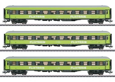 Märklin 42955 FlixtrainPersonenwagen-Set 3-tl.g Ep.6