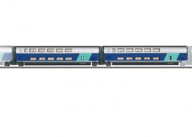 Märklin 43433 SNCF TGV Euroduplex Erg.wg.-Set 2 Ep.6