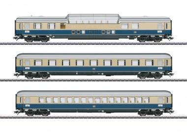 Märklin 43881 DB Personenwagen-Set Rheinpfeil Ep.3