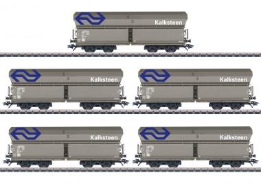 Märklin 46268 NS Selbstentladewagen-Set 5-tlg Ep.5