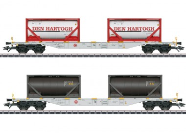 Märklin 47137 AAE Containerwagen-Set 2-tlg. Ep.6