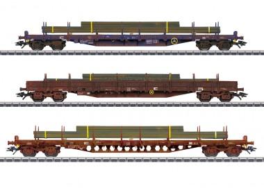 Märklin 47160 CFL Flachwagen-Set Cargo Ep.6
