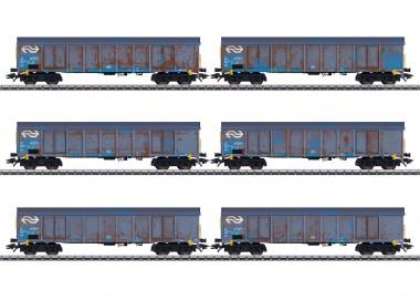 Märklin 47189 NL Hochbordwagen-Set Cargo Ep.5
